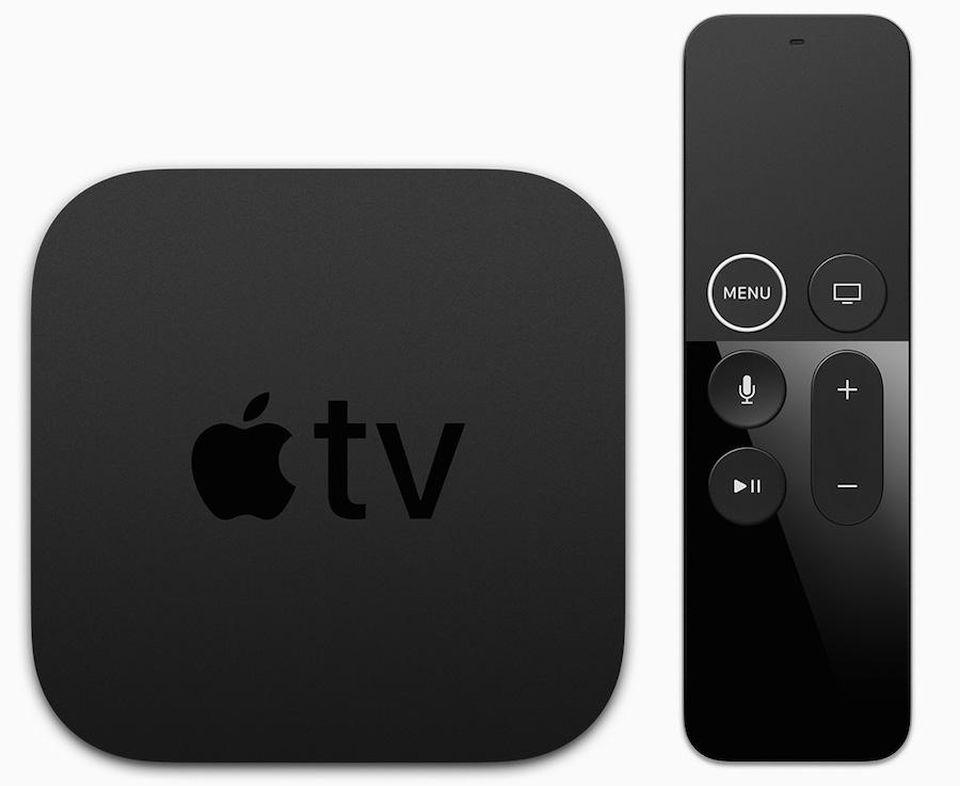 The Apple TV 4K.