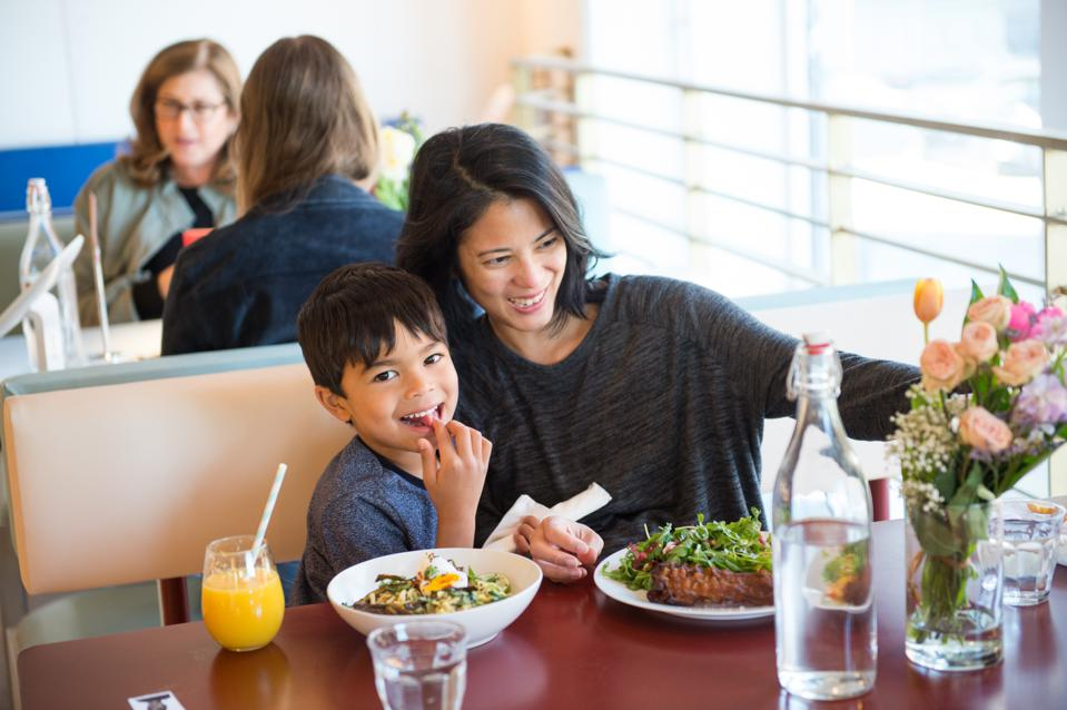 Millennial moms are committed to eating right and exercising more than other generations.