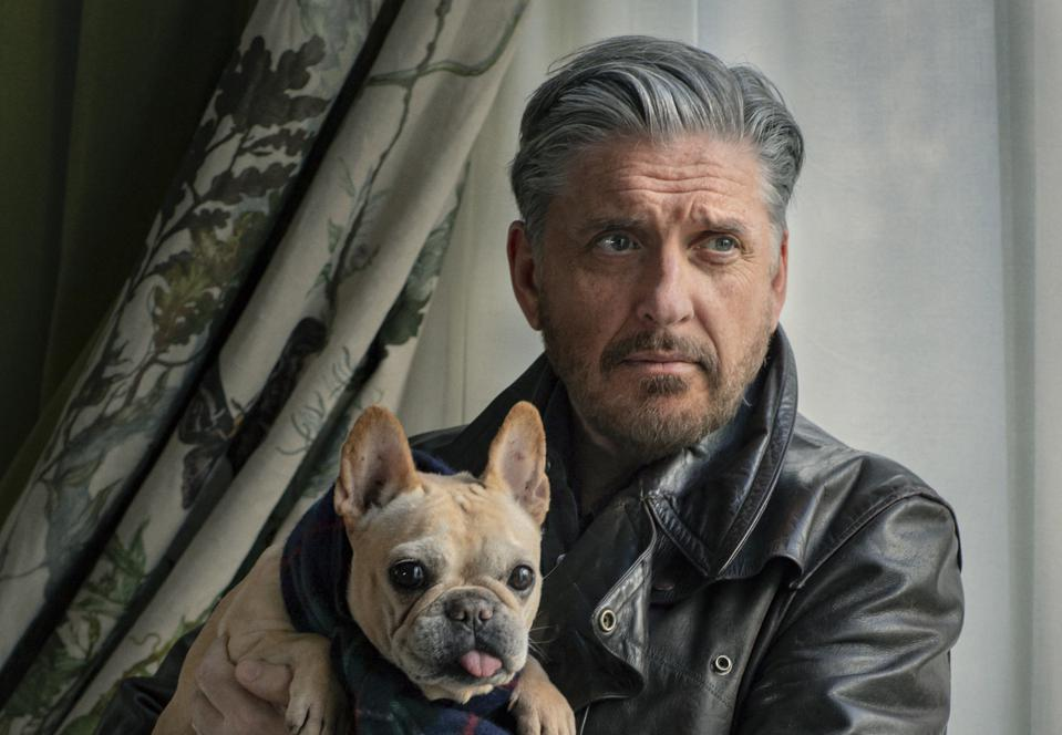 Craig Ferguson poses for 'Hobo Fabulous' on the Comedy Dynamics Network.