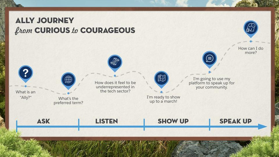Salesforce Ally Journey