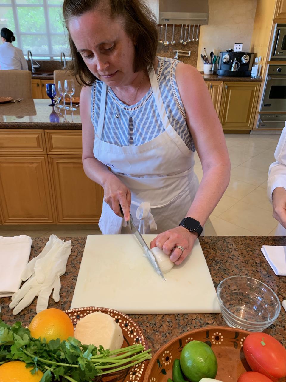 Ritz Cancun cooking class