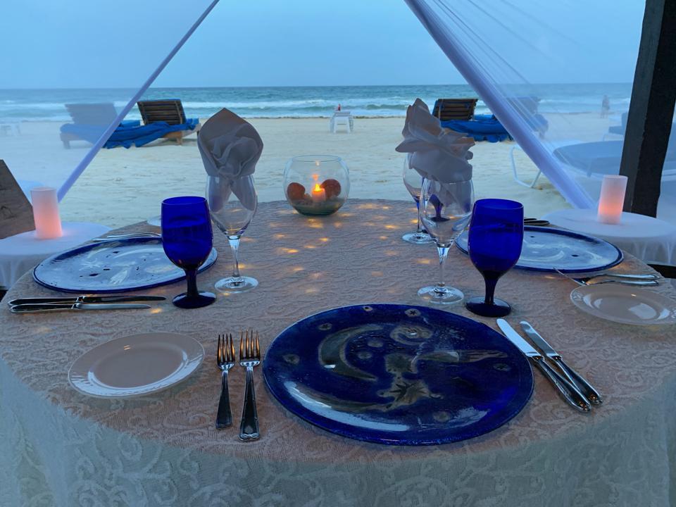 Ritz Cancun cabana