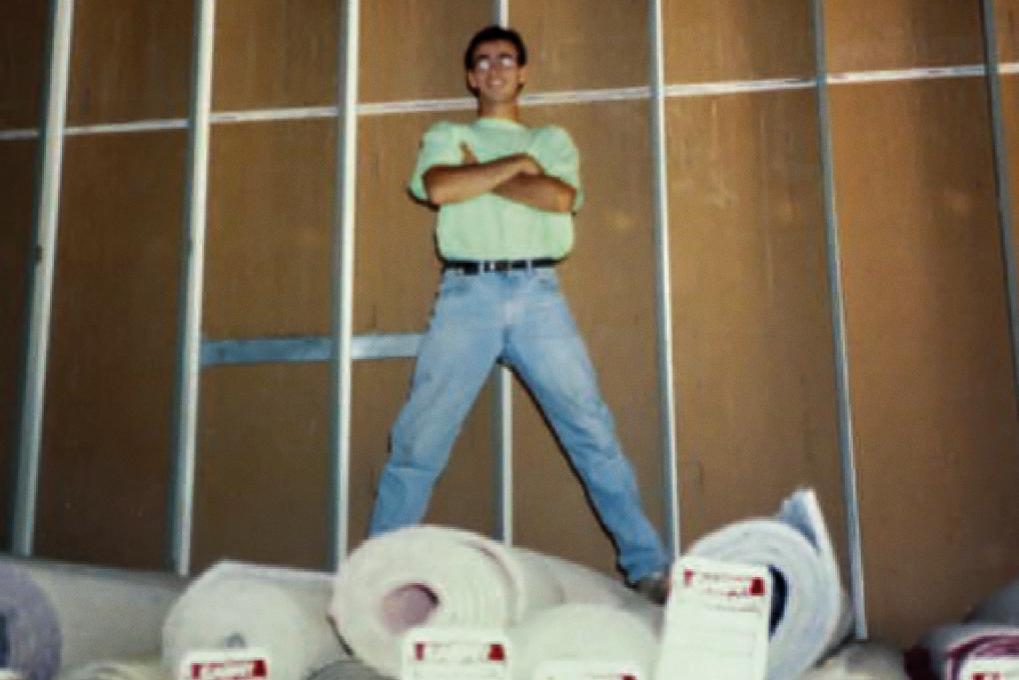 Eric Lefkofsky ran a carpet business in college at the University of Michigan