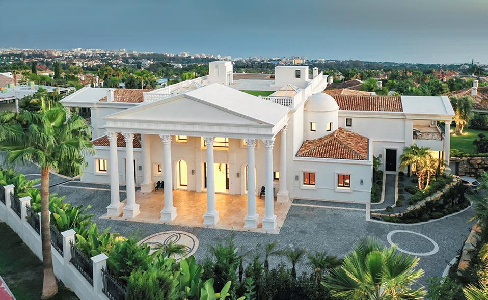 Dream Villa In Marbella Hits The Market With 44 Million Price Tag