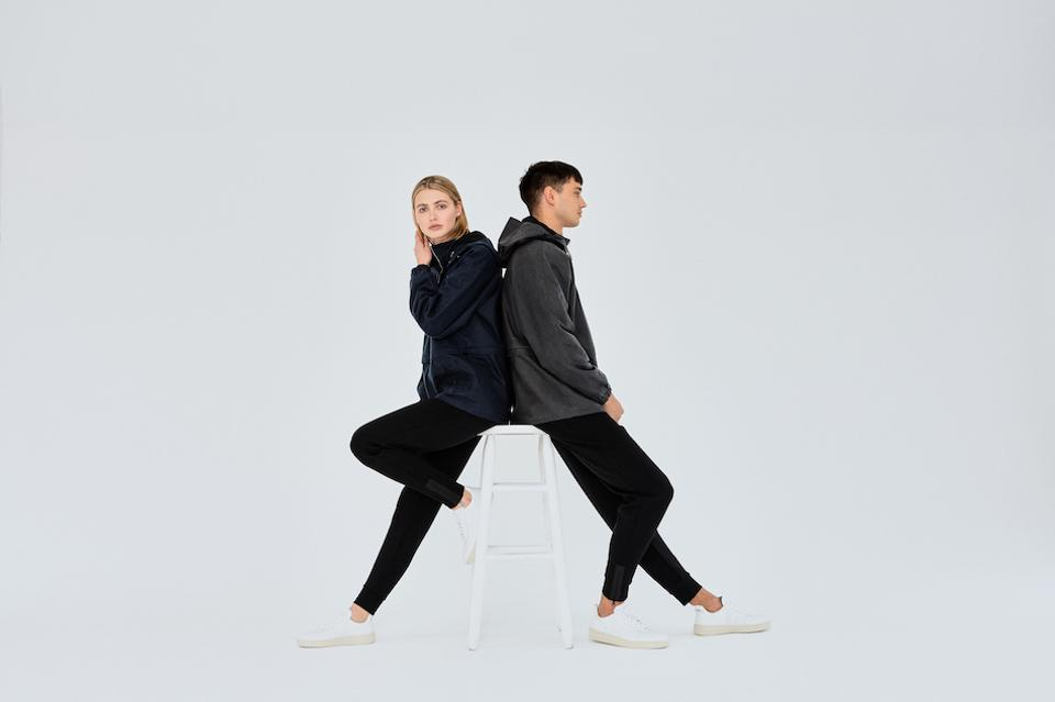 Riley Studio sweatpants in recycled plastic