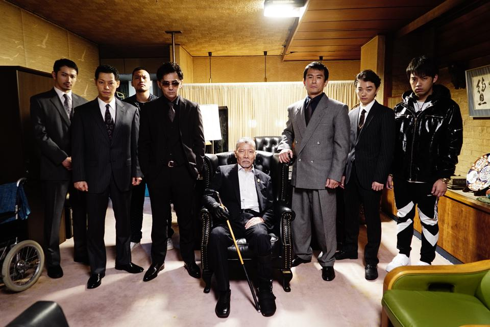 The Yakuza Gang from First Love