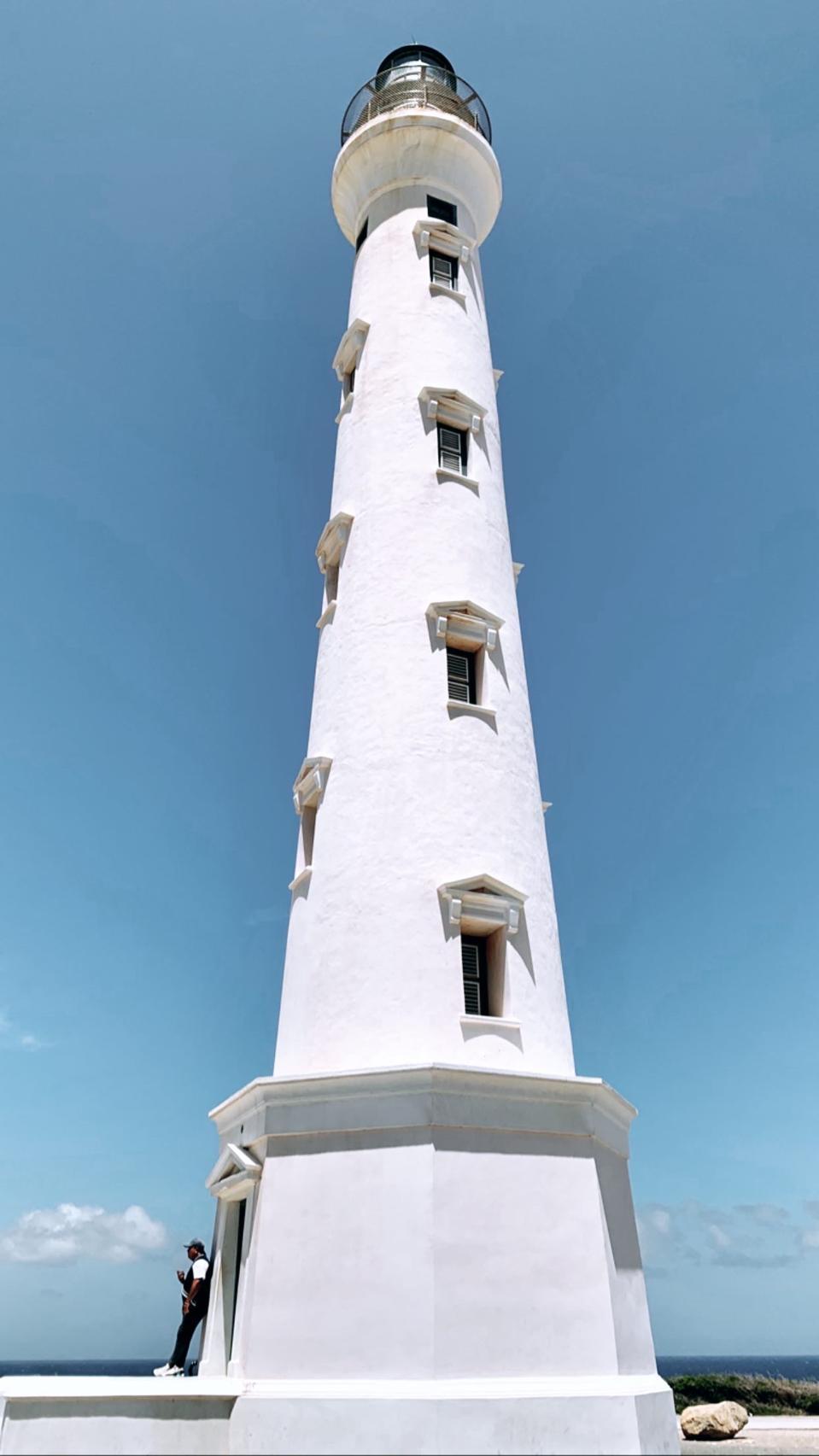 Aruba's California Lighthouse