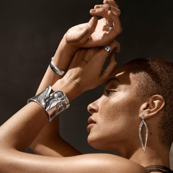 John Hardy Goes 100 Percent Sustainable For Its First Diamond-Studded Jewelry Collection