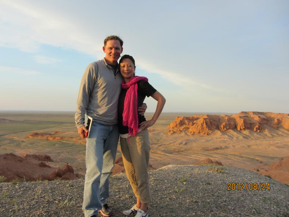 Susan and Tom Choe