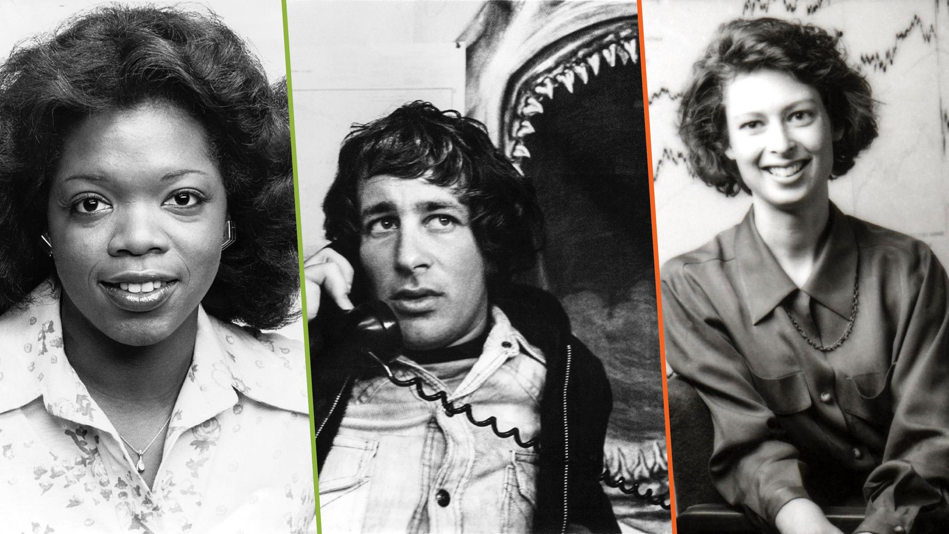 Oprah Winfrey, Steven Spielberg, Abigail Johnson
