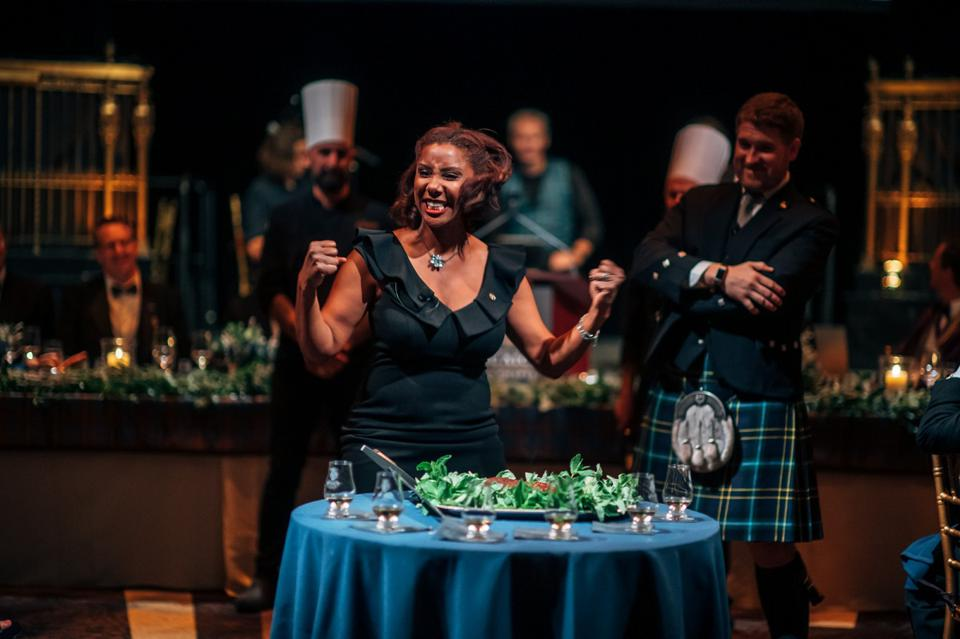Keepers of the Quaich Haggis Ceremony