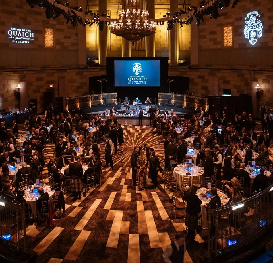 Keepers of the Quaich Gotham Hall Banquet Room