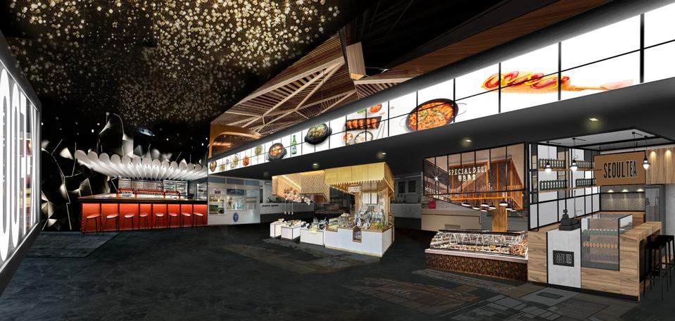 A Korean Food Hall Comes To Times Square