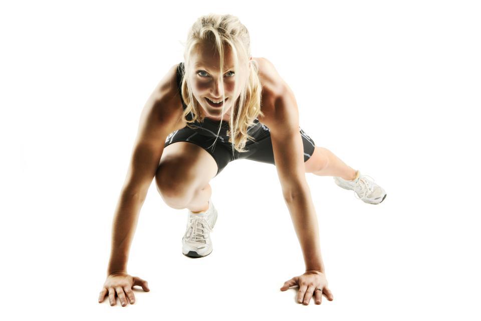 Personal trainer Sarah O'Neill