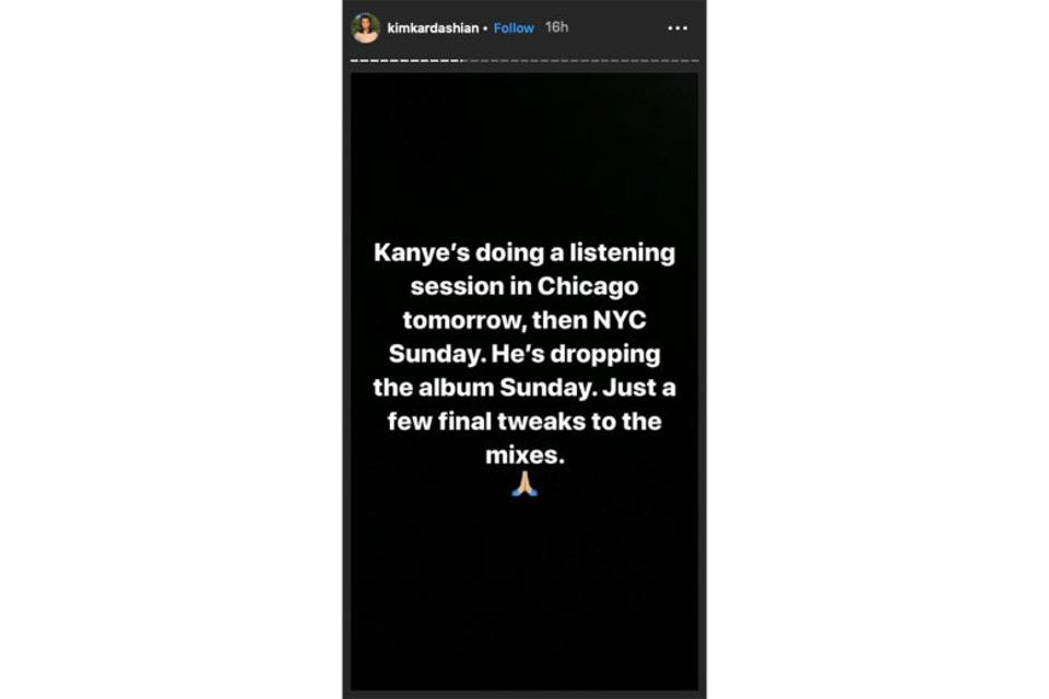 Kim Kardashian's Instagram