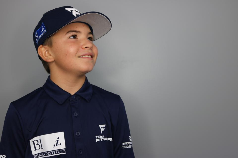 Emmo Fittipaldi is only 12 but has sponsors lining up.
