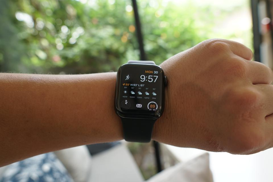 Apple Watch 5's straps can be changed.