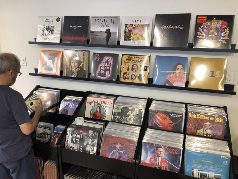 Spin On: Nashville's Vinyl Collection at SHOWFIELDS in New York City