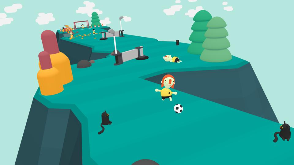 What the Golf soccer