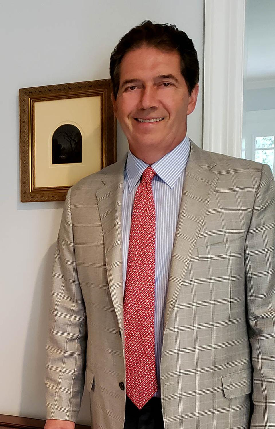 Head shot of Anthony Speiser, Jasper F. Cropsey expert