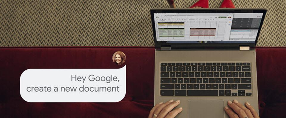 The Assistant comes to most Chromebooks.