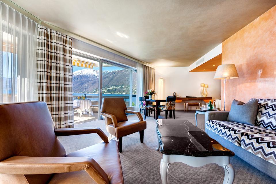 Eden Roc suite.