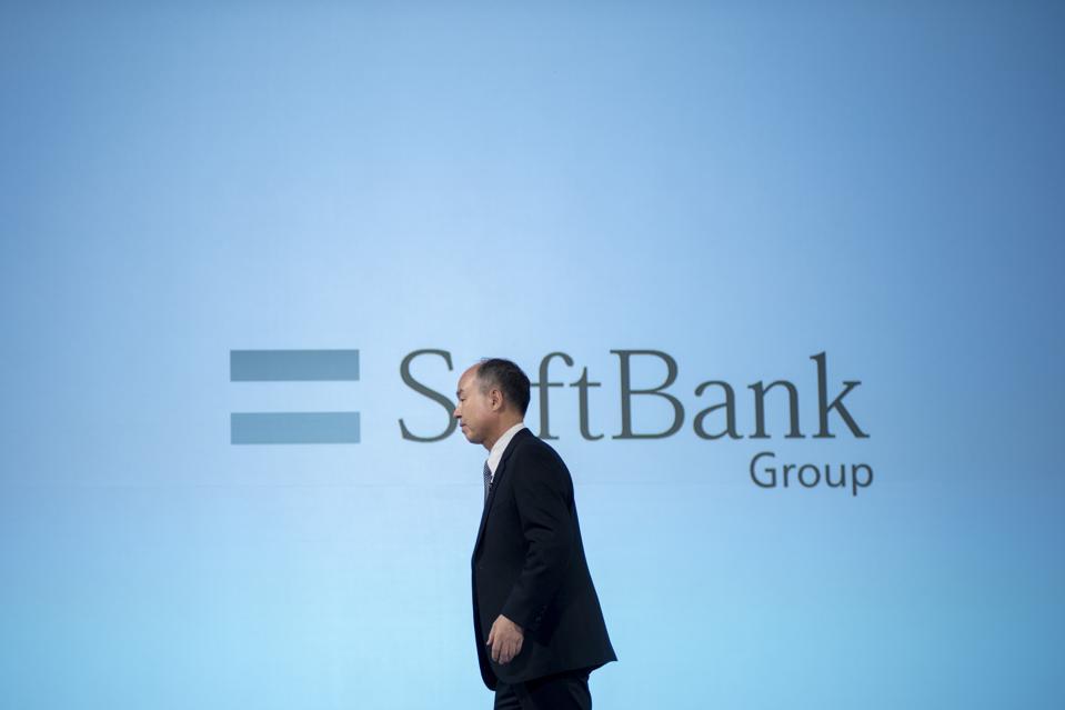 Softbank Group Chairman Masayoshi Son Press Conference