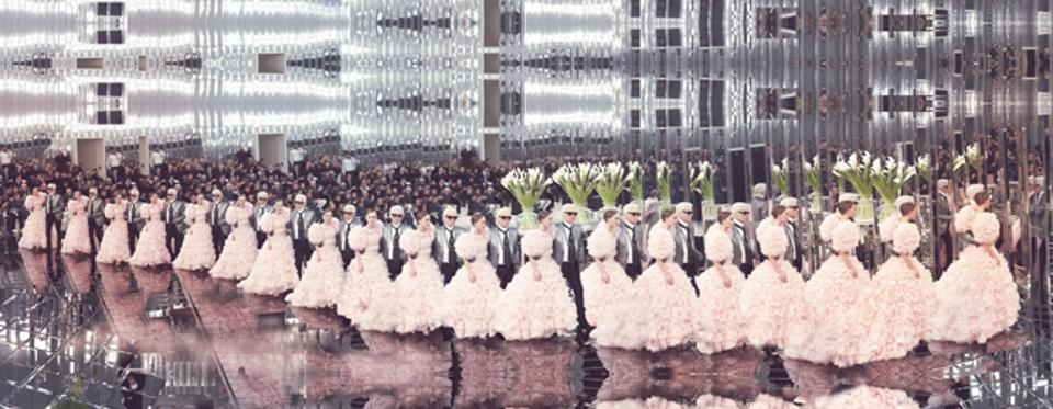 From the book Lagerfeld: The Chanel Shows