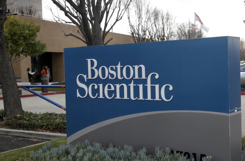 Earns Boston Scientific