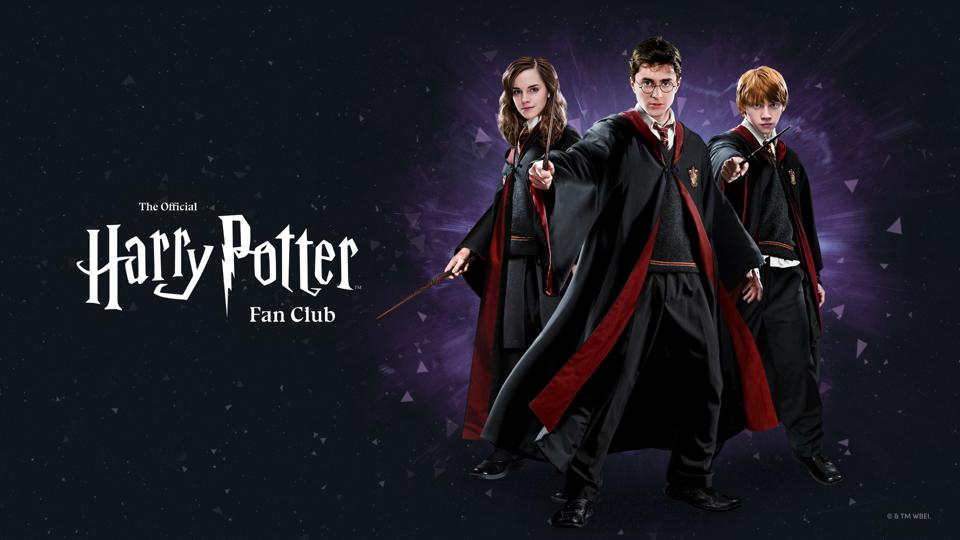 wizarding world digital launches official harry potter fan club