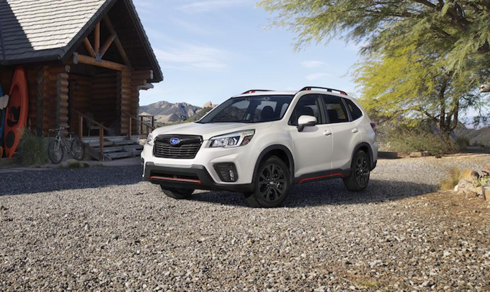 Forester is one of Subaru's best-selling models.