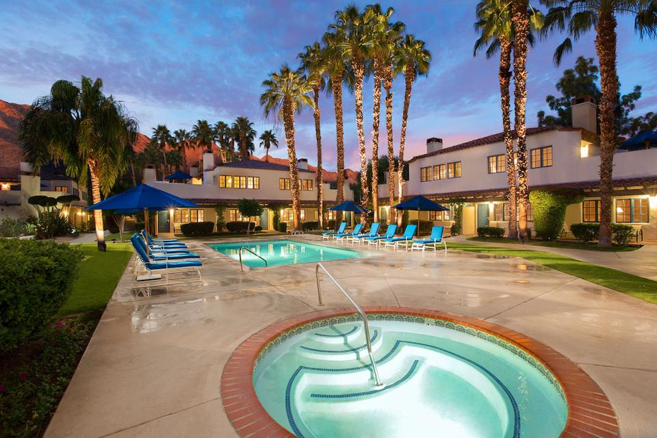 Palm Springs, cannabis-friendly hotels, CBD spa treatments, cannabis wellness