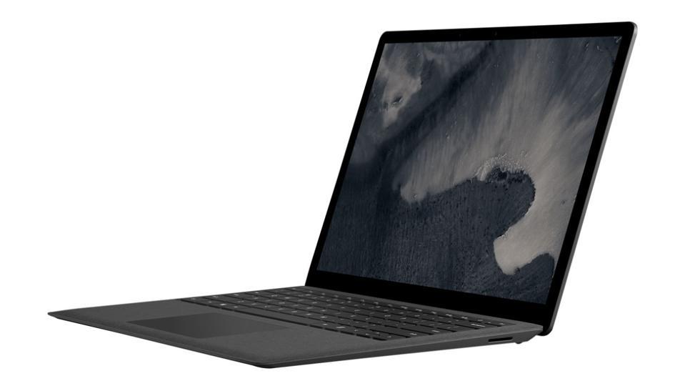 Black Microsoft Surface Laptop 2.