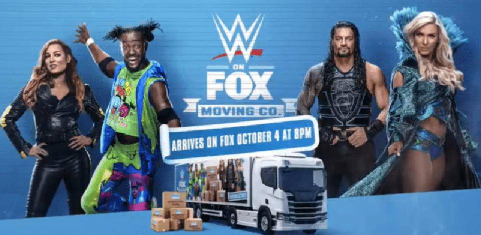 WWE Fox Friday Night SmackDown Moving Truck