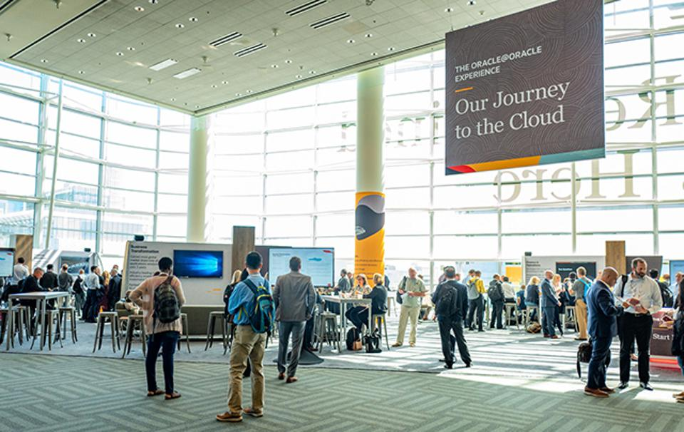 At Oracle OpenWorld, attendees learned about Oracle's own migration to the cloud.