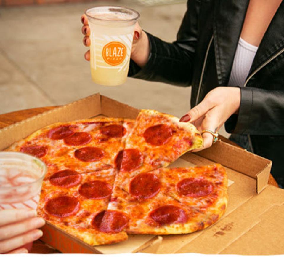 New Blaze Shareable Pizza