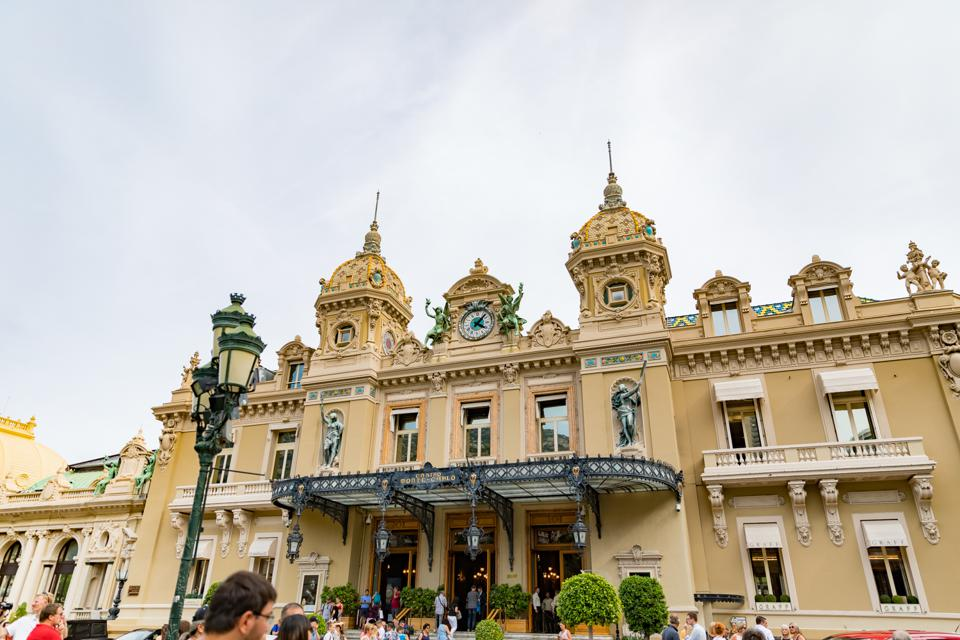 Monte Carlo - Le Casino in Monte Carlo