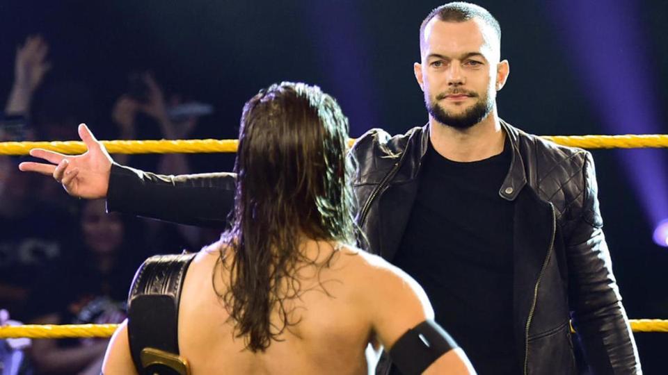 Finn Balor NXT WWE Ciampa AEW Dynamite