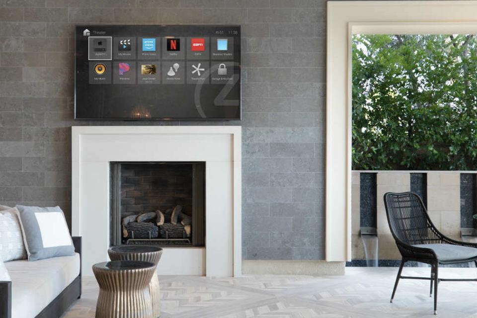 Control4 living room setup