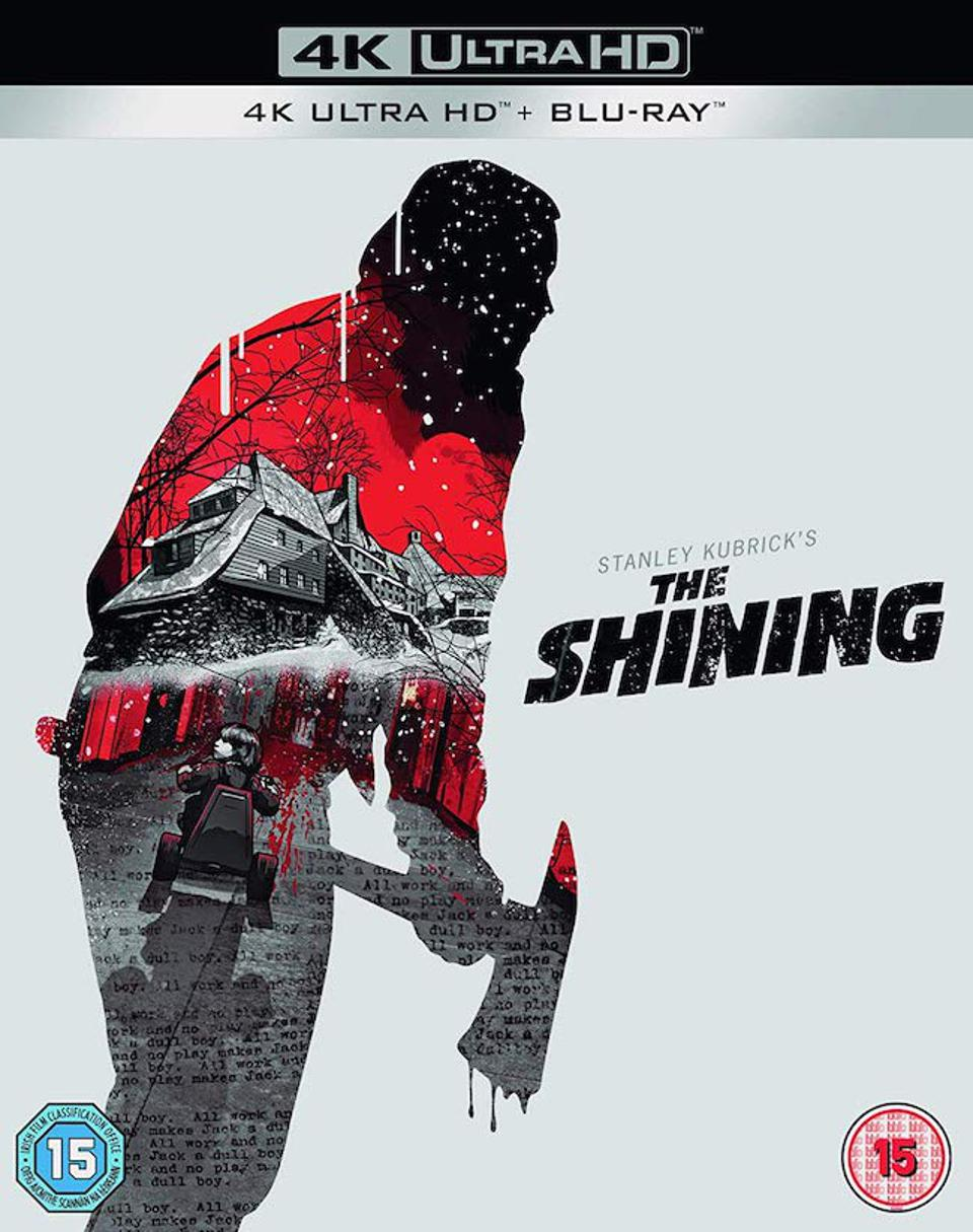 Shining 4K Blu-ray box art
