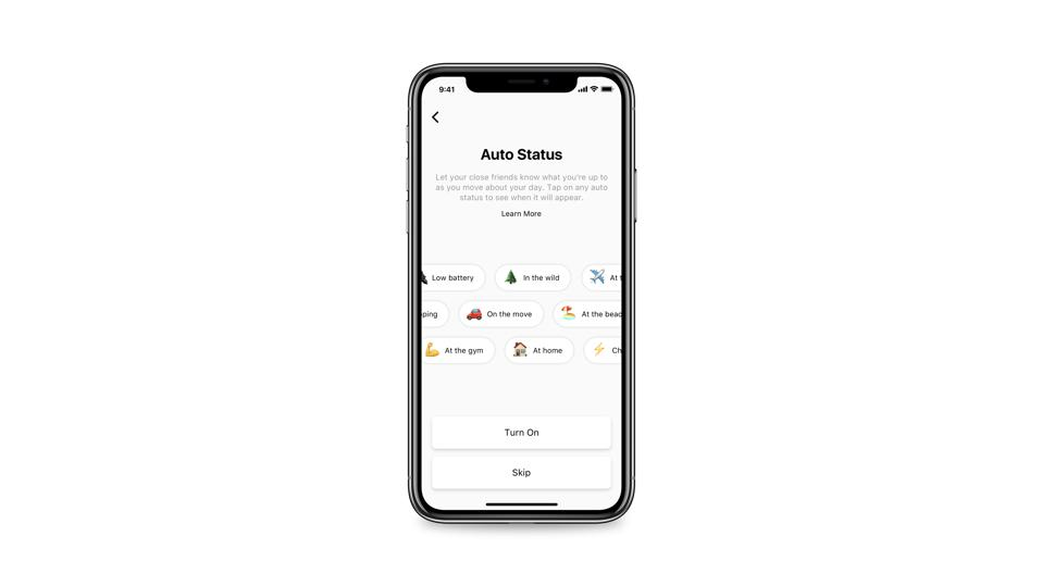 Threads will include an 'auto status' feature that tracks your GPS location and automatically updates with what you're doing.