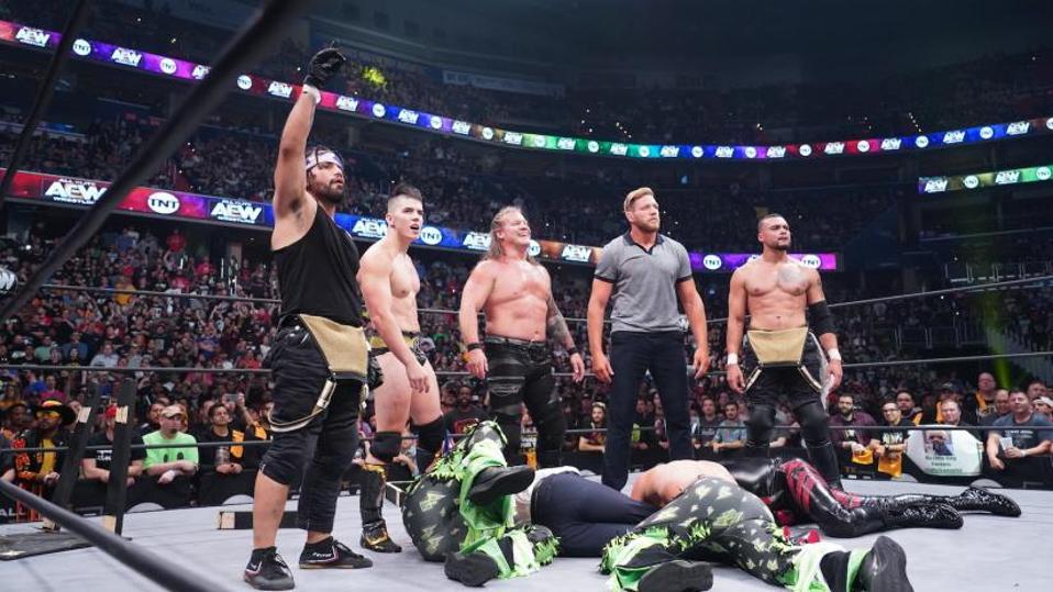 WWE NXT AEW Dynamite TNT Jack Swagger Chris Jericho