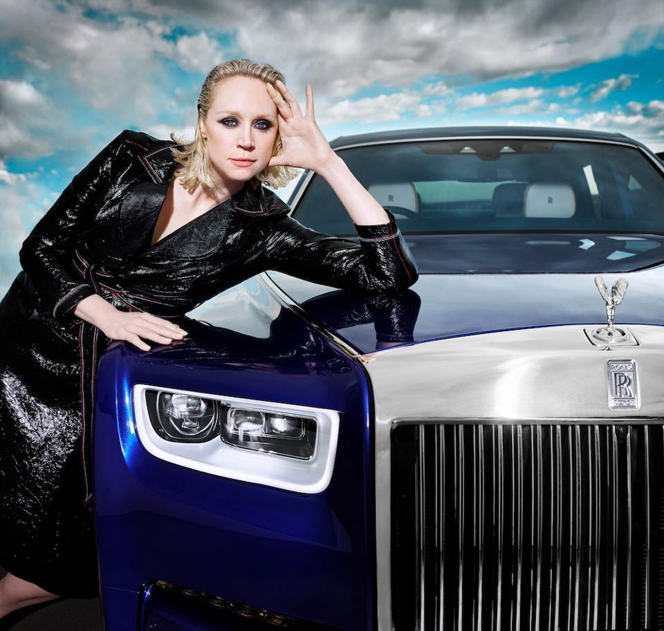 British actress Gwendoline Christie stars in Rankin's Rolls-Royce Phantom film