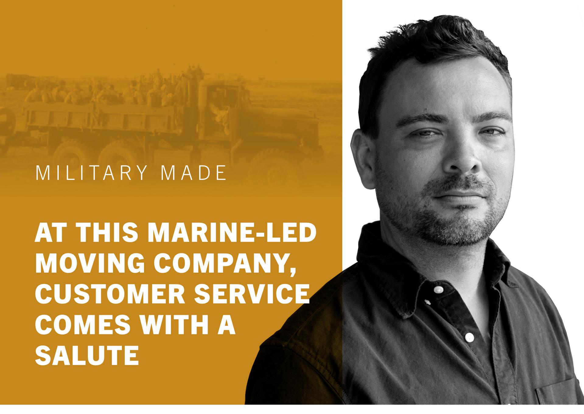 At This Marine-Led Moving Company, Customer Service Comes With A Salute