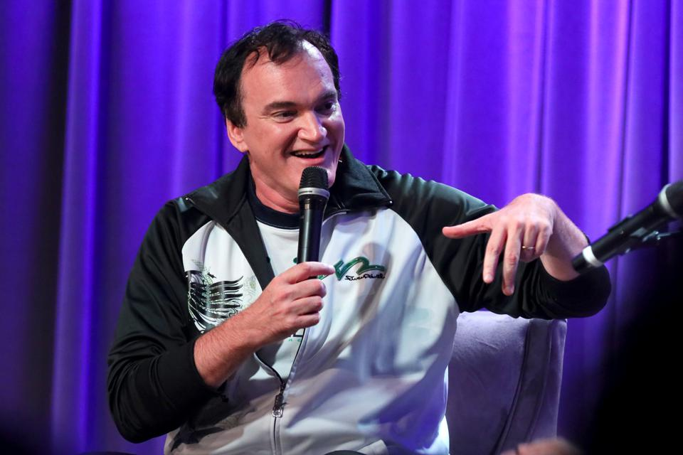 ″Once Upon A Time in Hollywood″ writer and director Quentin Tarantino.