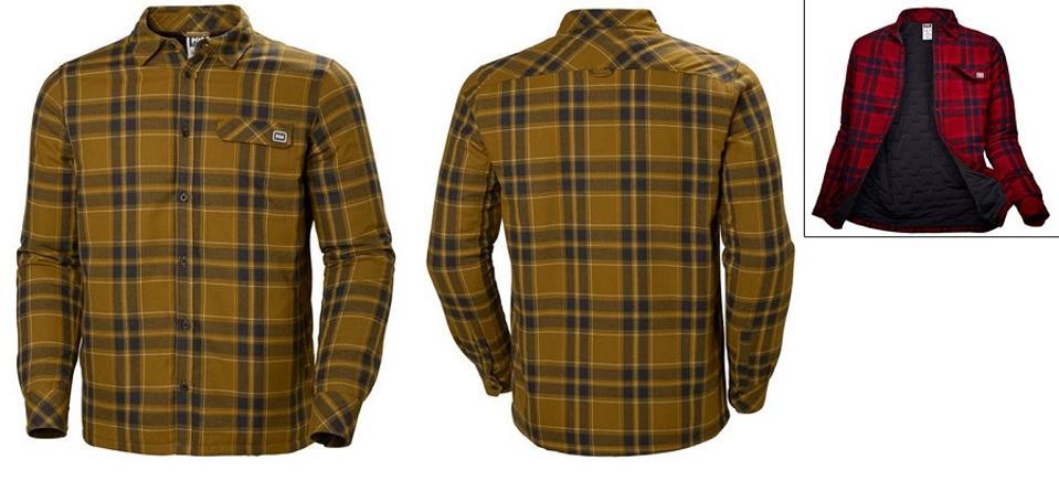 Helly Hansen Lifaloft Insulated Flannel Shirt Jacket