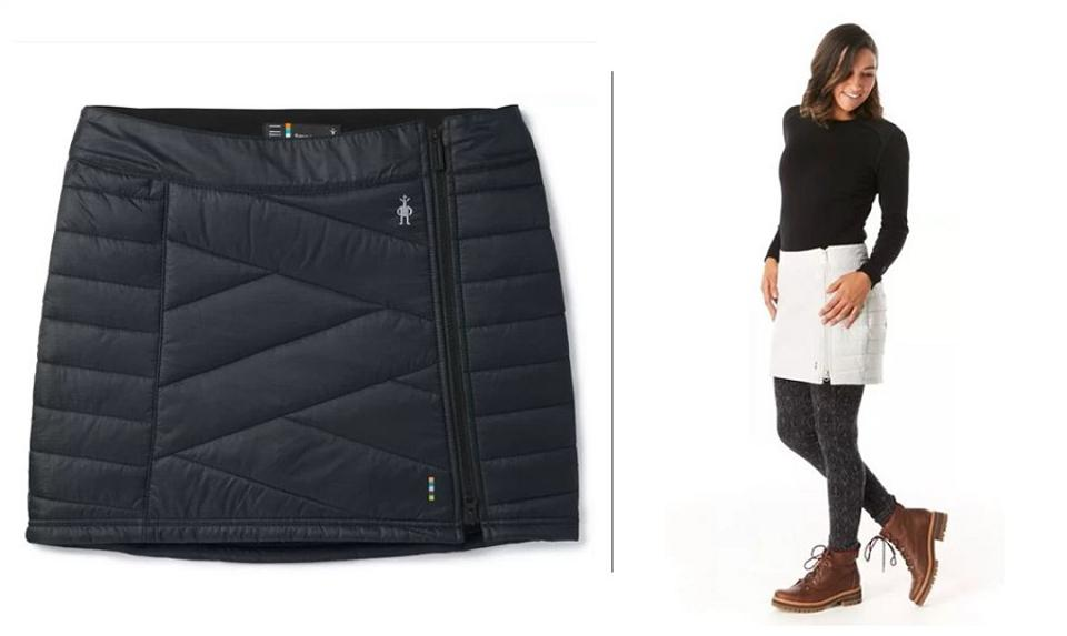 Smartwool quilted skirt