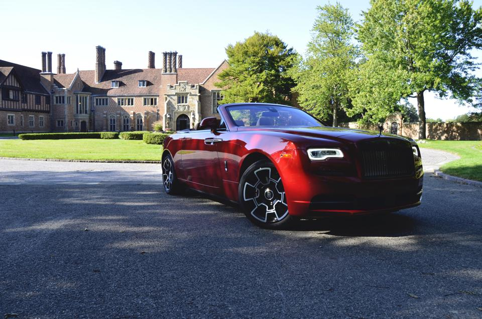 2019 Rolls-Royce Dawn Black Badge - Pictured at Meadow Brook Hall