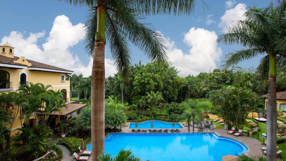 hotel pools in Costa Rica