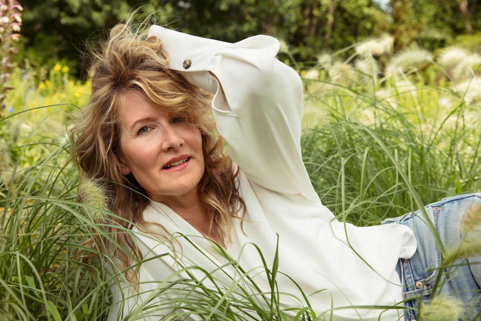 Laura Dern, brand activist with True Botanicals